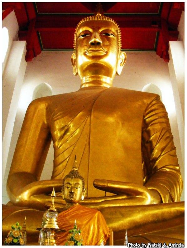 เที่ยวไทย เที่ยววัด วัดเกษไชโย วัดไชโยวรวิหาร หลวงพ่อโต สมเด็จพระพุฒาจารย์โต